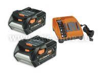 AEG akkumulátor és töltő LL1830 BL szett