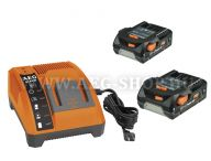 AEG akkumulátor és töltő LL1815 BL szett