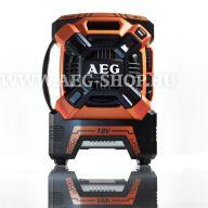 AEG BR 18C 18 V rádió