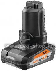 AEG L1260 12 V 6 Ah akkumulátor